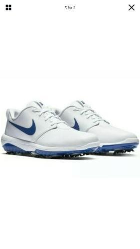 Nike Roshe G Tour Golf Shoes Indigo Blue Waterproof AR5580-1