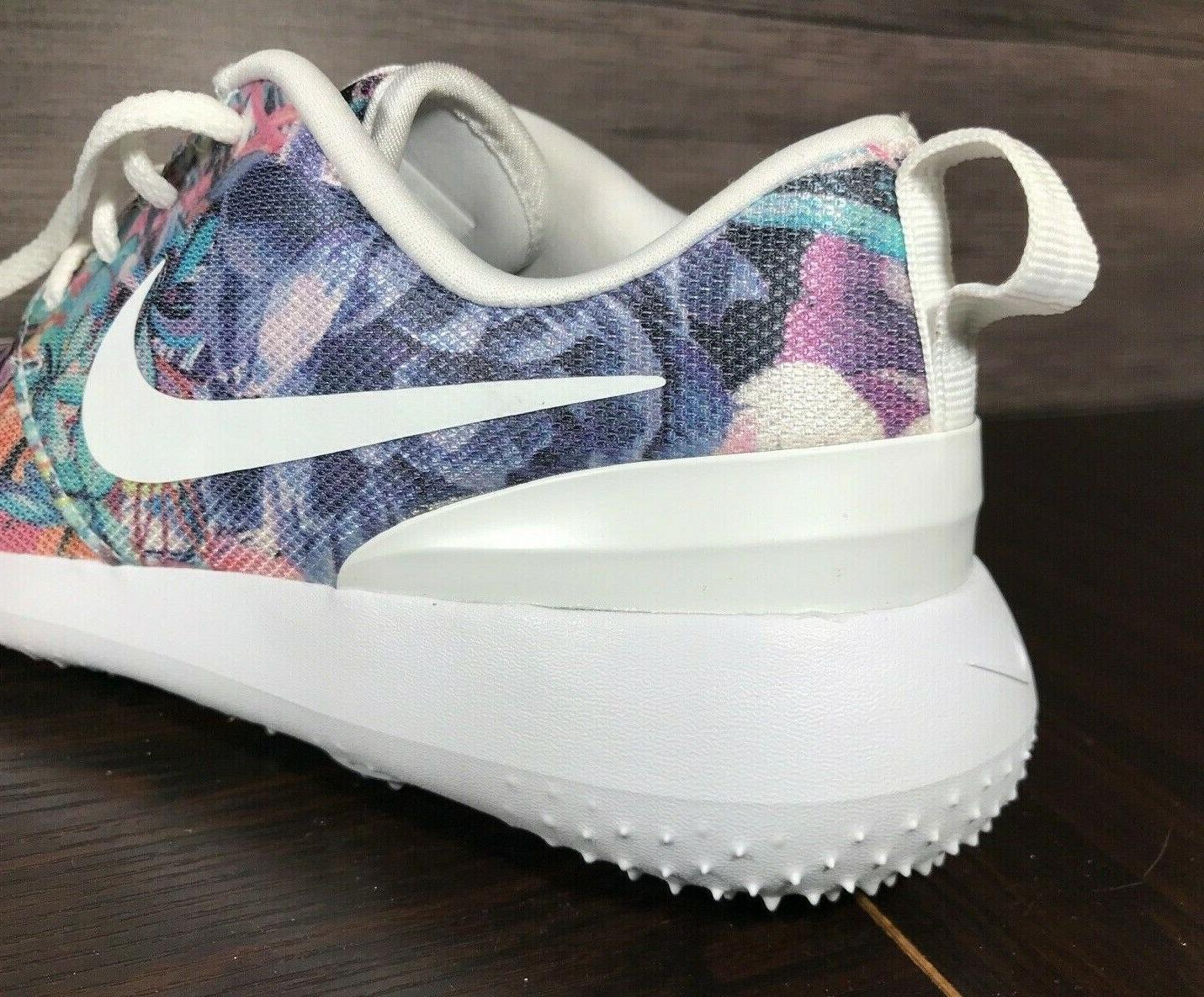 Nike Roshe Golf Floral White