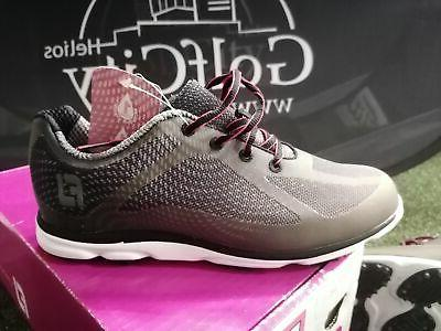sale ladies empower golf shoes black charcoal