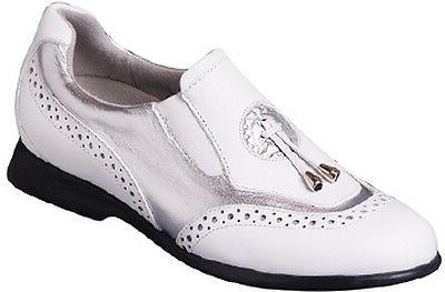 Sandbaggers Golf Shoes: Madison II Silver