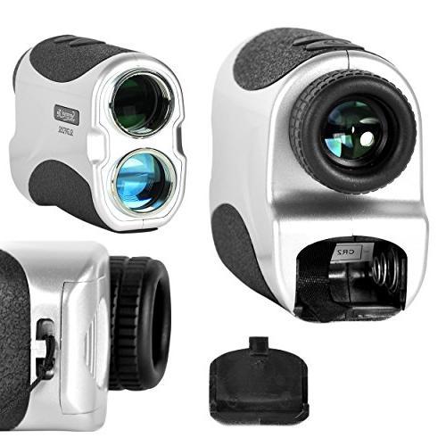 SereneLife Premium Rangefinder Meter Lens - & Measuring Detection Mode