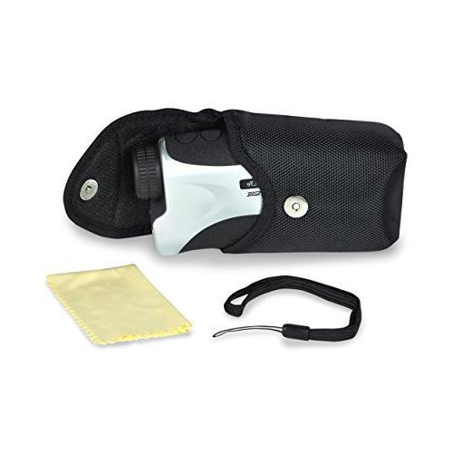 SereneLife Premium Slope Golf Meter Manual Lens Compact Handheld - & Distance Mode