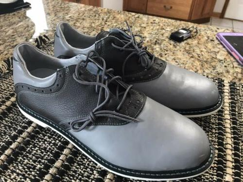 Ashworth Soft Spike Golf Shoes Golf Shoes Mens Size