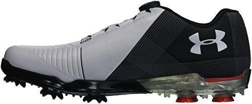 2 Golf Shoe, White /Black, 10.5