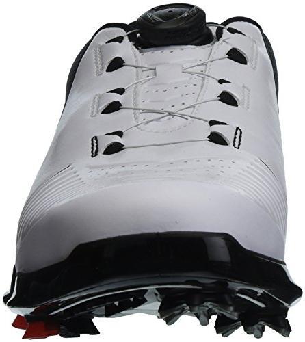 Under 2 BOA Shoe, White /Black, 10.5