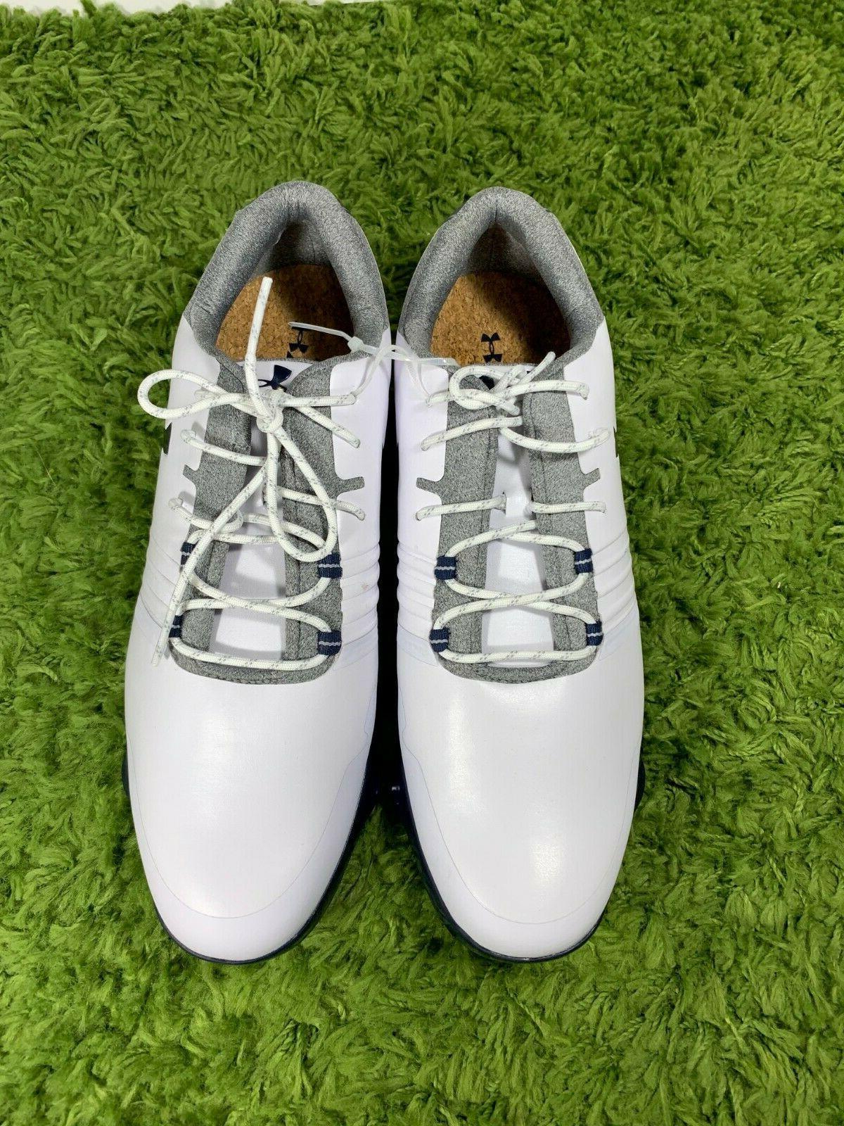 Under Spieth Match Size 10 Navy Blue Shoes