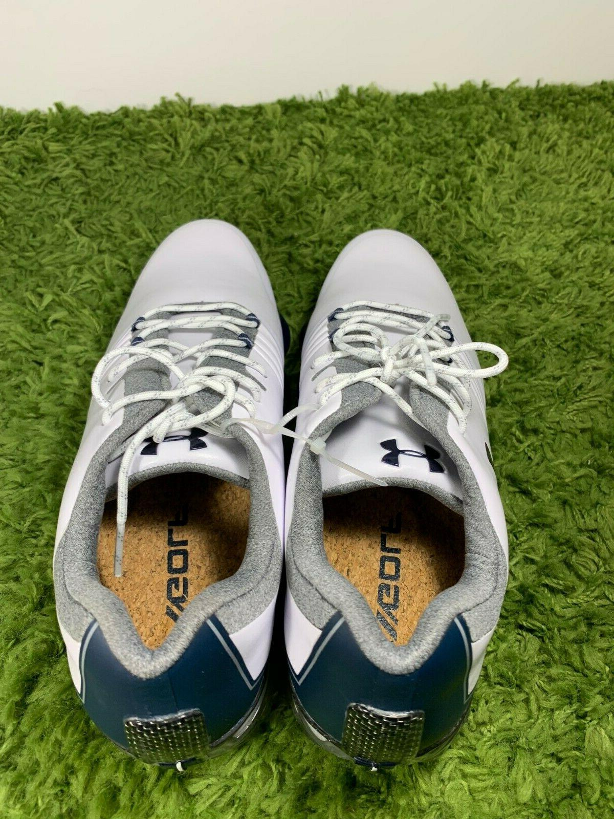 Under Armour Spieth UA Match Play 10 Navy Blue Shoes 3019893-104