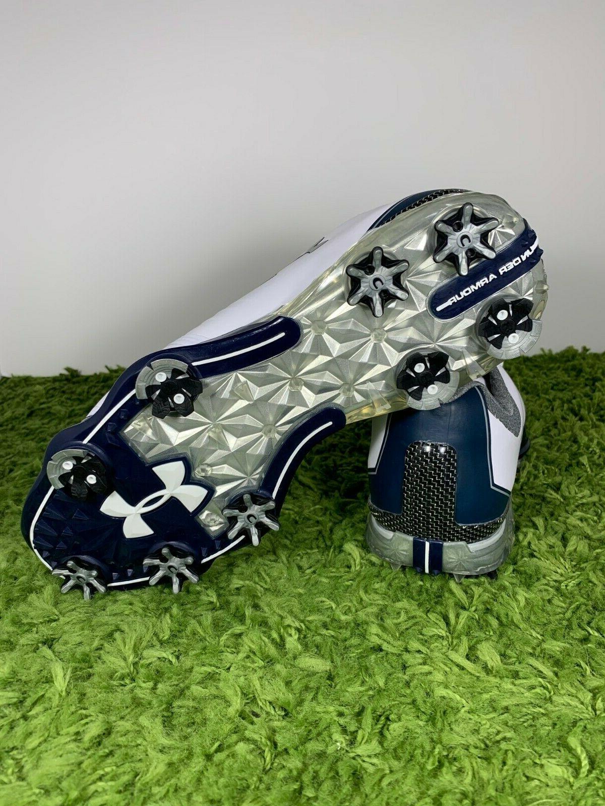 Under UA Match Men's 10 Navy Blue Shoes