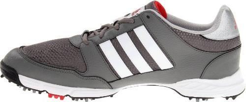 adidas 4.0 Golf Shoe, Iron/White/Black,