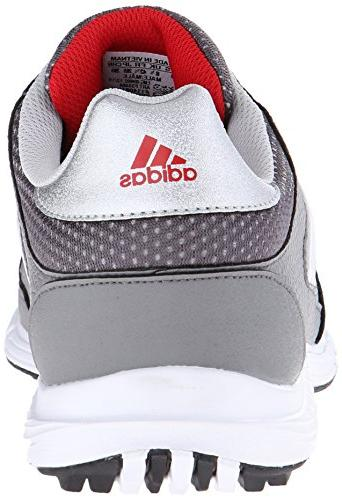 adidas Men's 4.0 Golf Metallic/White/Black,