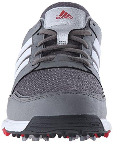 adidas Men's Tech Metallic/White/Black, W