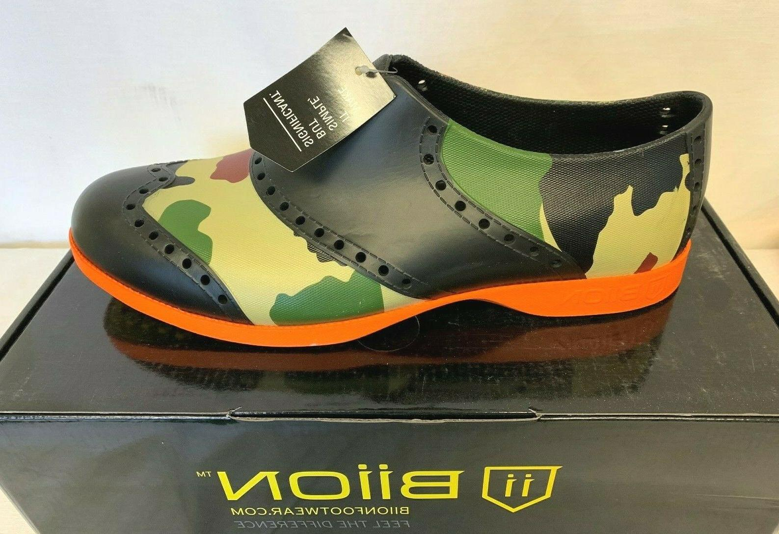 BIION The Oxford Unisex On GOLF SHOES CAMO