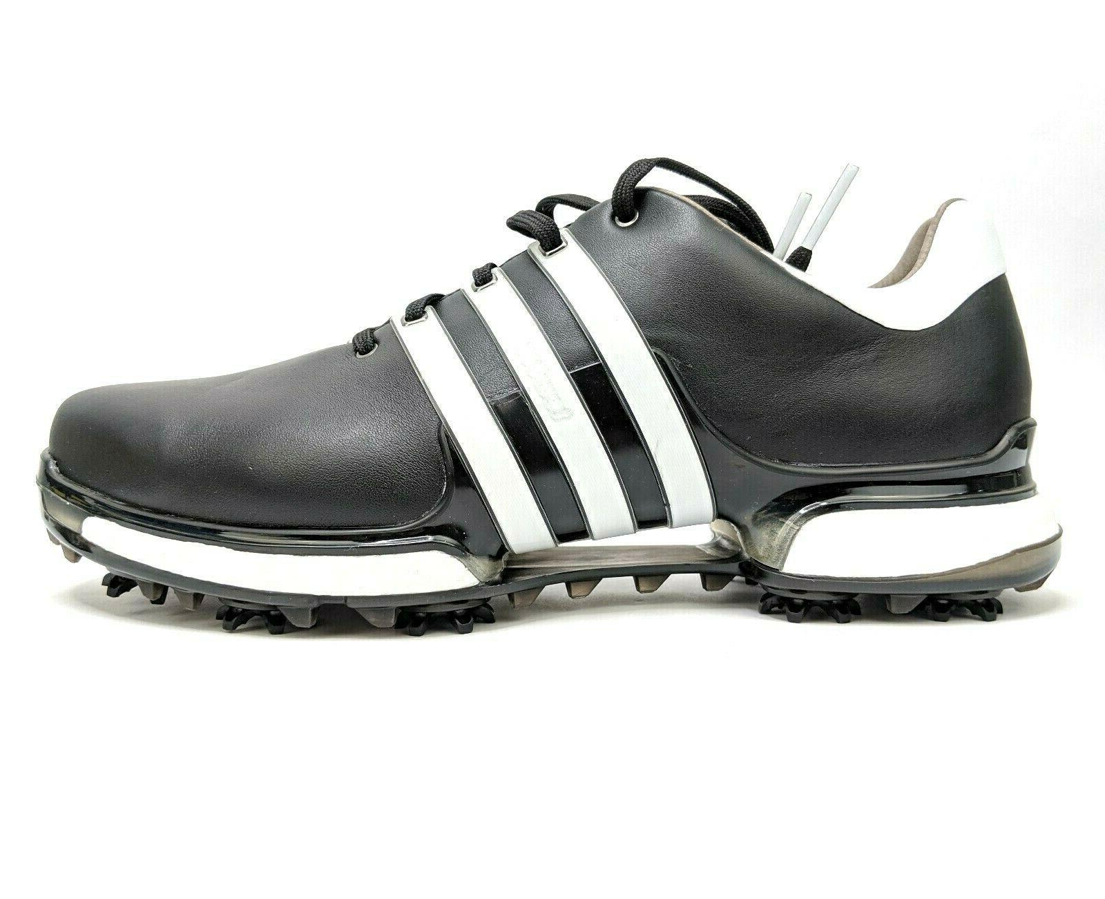 Adidas 360 2.0 Mens Wide Black Golf Boost