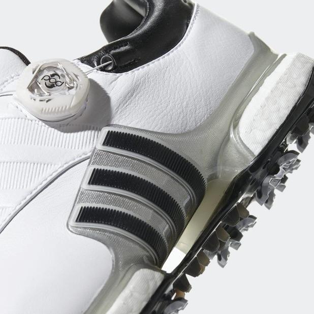 Adidas Tour 360 BOA Golf F33619 White Silver Black Size