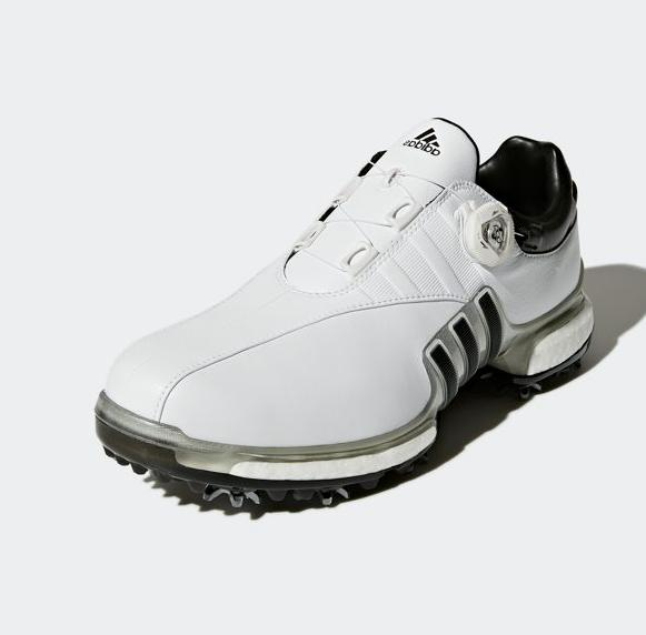 Adidas 360 BOA Mens Shoes F33619 White Silver Size WIDE