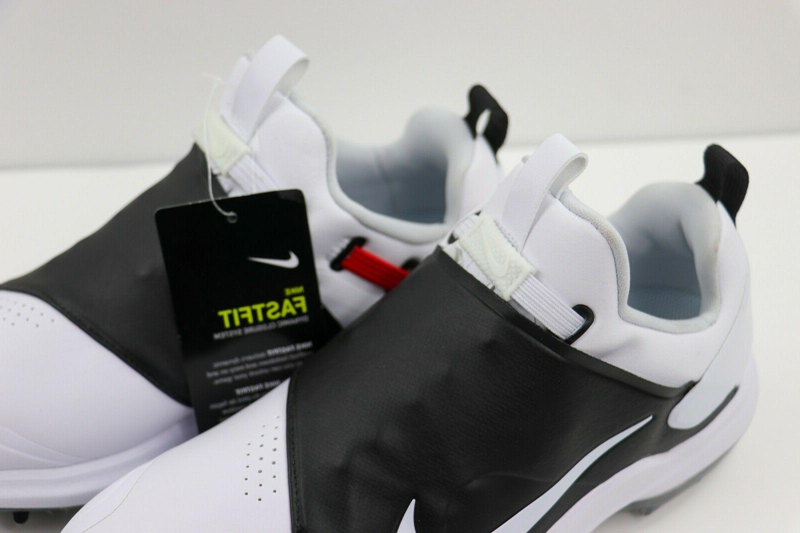 Nike Tour Golf Cleats White Black AO2241-100 Mens