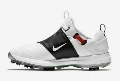 Nike 9-13 Golf Shoes Waterproof Koepka White Black