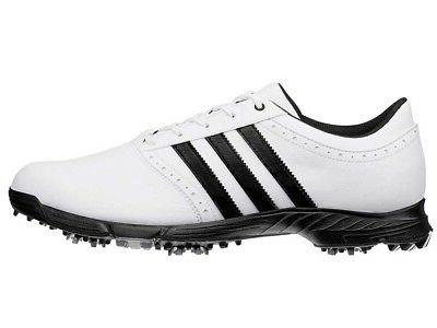 traxion classic golf shoes white black