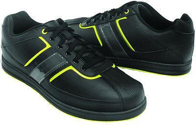 Crocs Tyne Lo Pro Black / Citrus Lime Golf Shoes Hank Haney