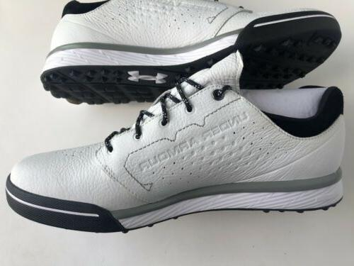 ua tempo hybrid spikeless leather golf shoes