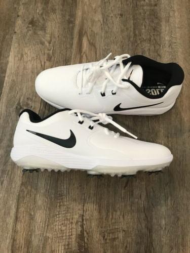 vapor pro golf shoes cleats white black