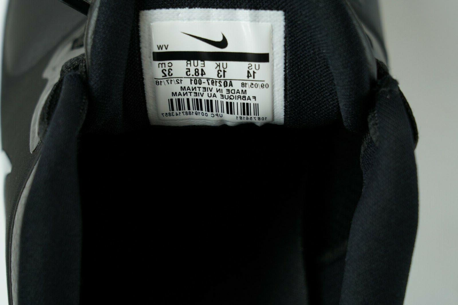 Nike Vapor Shoes Waterproof Black AQ2197-001 Size