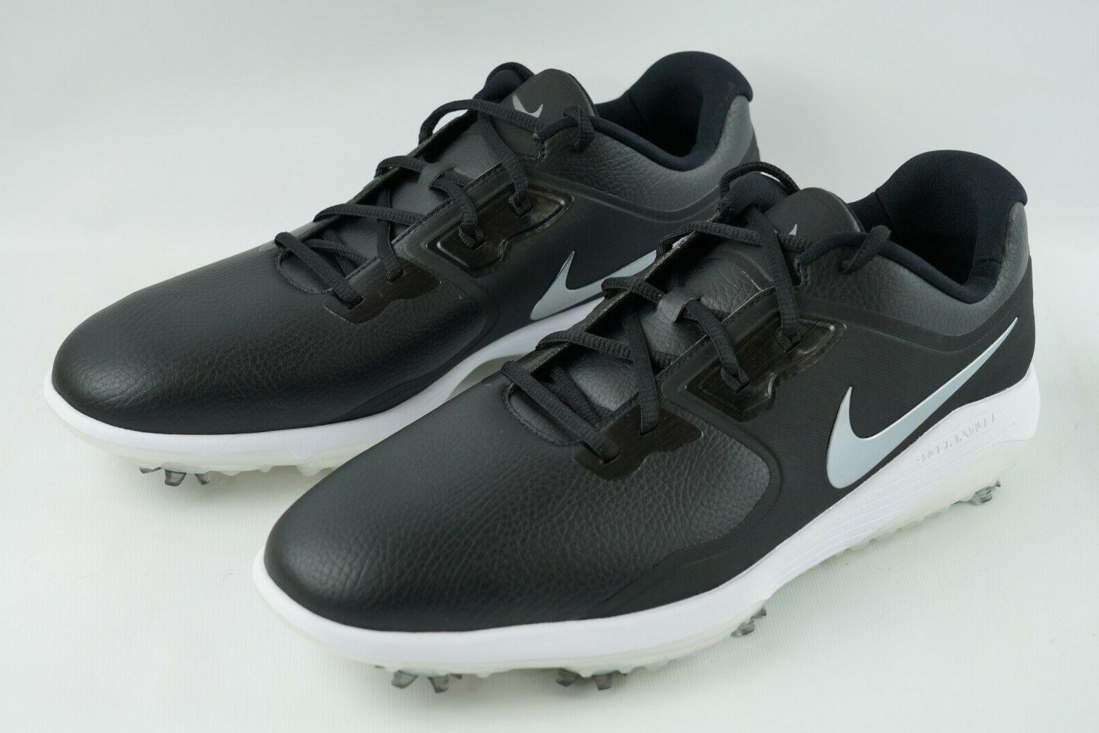 vapor pro golf shoes waterproof black white
