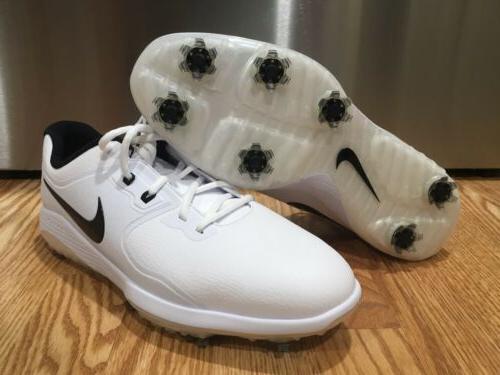 vapor pro golf shoes white black waterproof