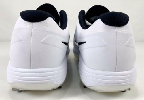 "Nike Vapor Lunarlon Golf Shoes AQ2197-101 & Black 10 ""NEW"""