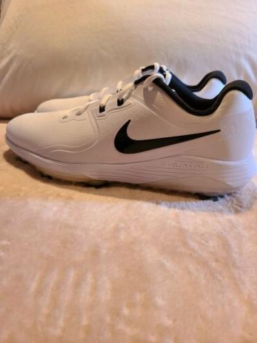 Nike Lunarlon Golf Shoes Black Mens New