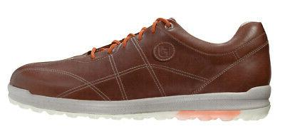versaluxe spikeless golf shoes caramello choose size