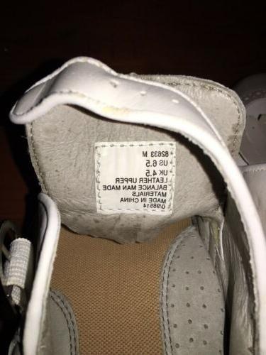 Size 6.5 White Taupe Saddle. And