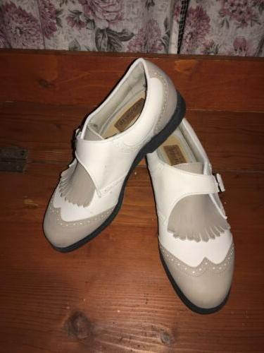 womans golf shoes size 6 5 white