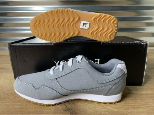 Women's FootJoy Retro Golf Shoes White