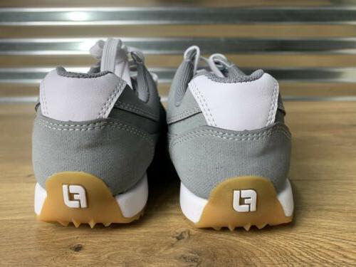 Women's FootJoy FJ Sport Retro Shoes Gray White SZ NEW!