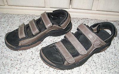 Women's BITE Soft Spike Leather Golf Sansals Shoes~Brown~Siz