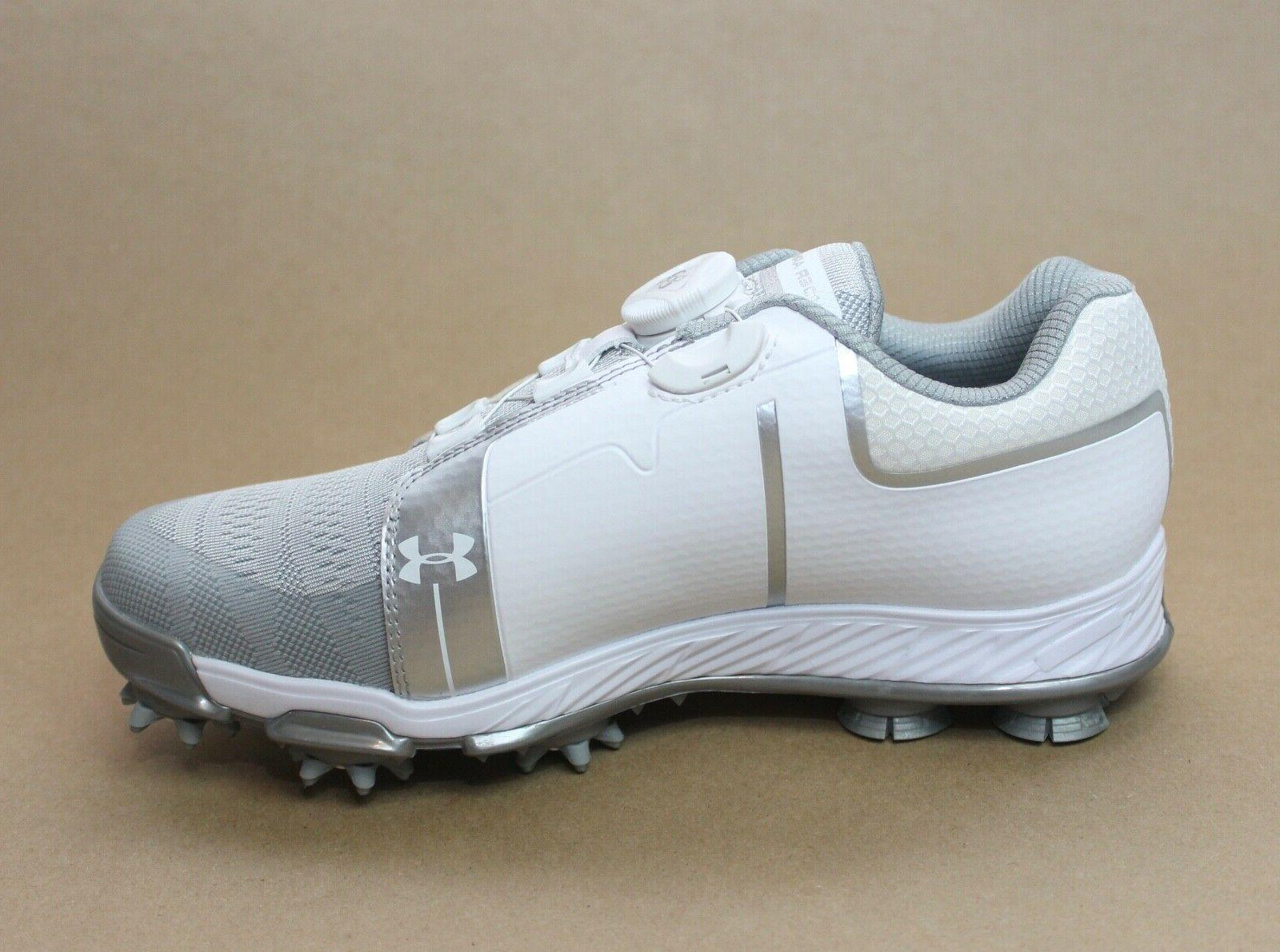 Under Armour Women's W Boa Golf Shoes White Size