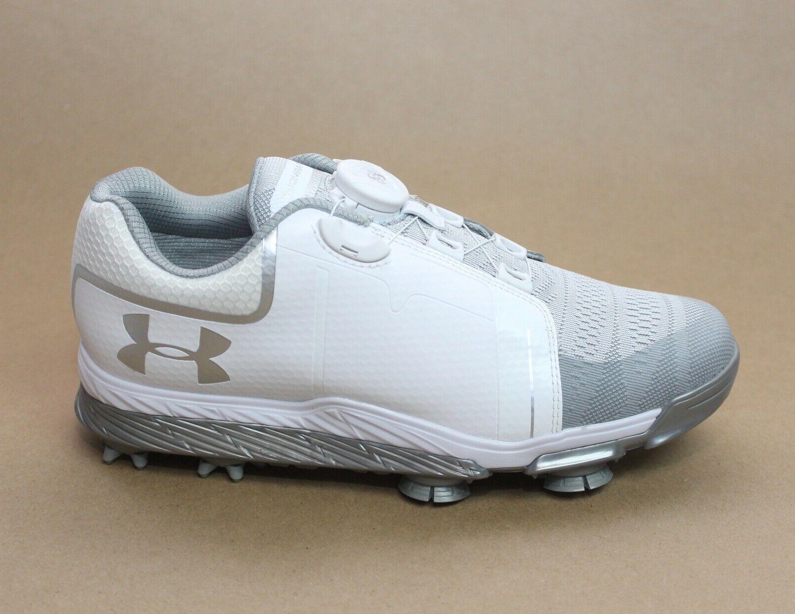 Under Armour Women's UA W Tempo Golf Shoes White Size