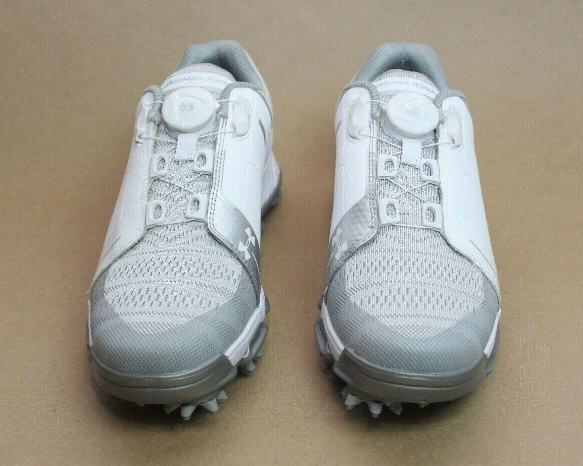 Under W Tempo Golf Shoes White 1292782-100 Size