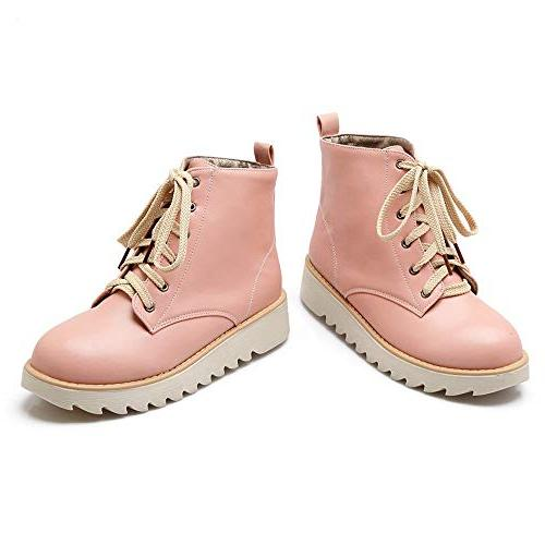 High-Top Shoes Lace-Up