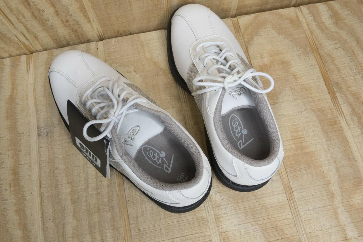 Bite Women's White Golf Shoes New