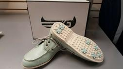 Canoos Ladies golf shoes, size 9, Light Green/Sage color
