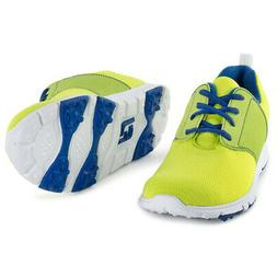 Footjoy Ladies Spikeless Enjoy Golf Shoes Lime - Choose Size