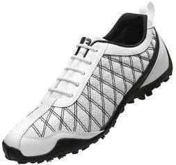 FootJoy Ladies Summer Series Golf Shoes 98951 White/Black Cl