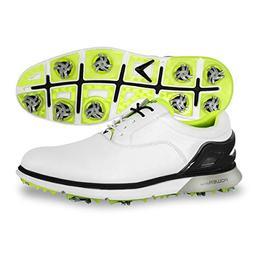 Callaway Men's LaGrange Golf Shoe, White/Lime, 11 M US