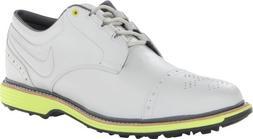 Nike Golf Men's Nike Lunar Clayton Golf Shoe,White/Venom Gre