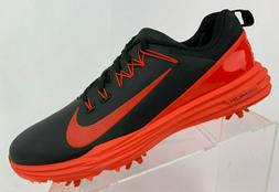 Nike Lunar Command 2 Golf Shoes Black Orange SZ