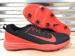 Nike Lunar Command 2 Golf Shoes Black Orange SZ