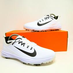 Nike Lunar Command 2 Golf Shoes Spikes White Size 9 849968-1