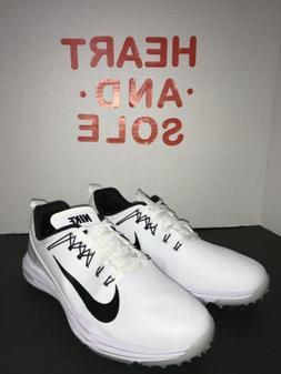 🔥 Nike Lunar Command 2 Golf Shoes White Black 849968-100